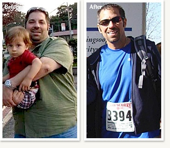 Dino: before and after medical weight loss of 118 pounds with Ethan Lazarus in Denver Colorado