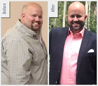 kyle before after losing 60 pounds